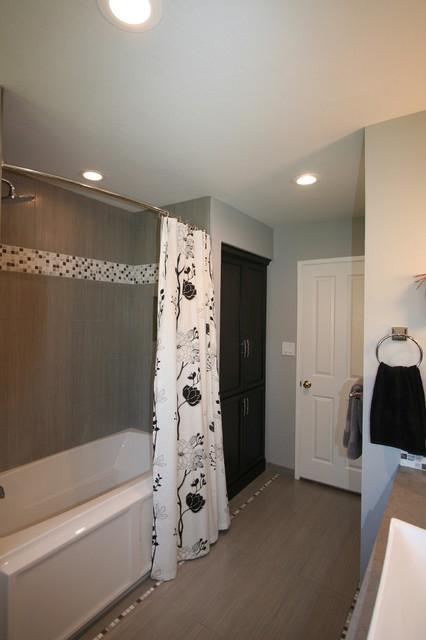S Wright contemporary-bathroom