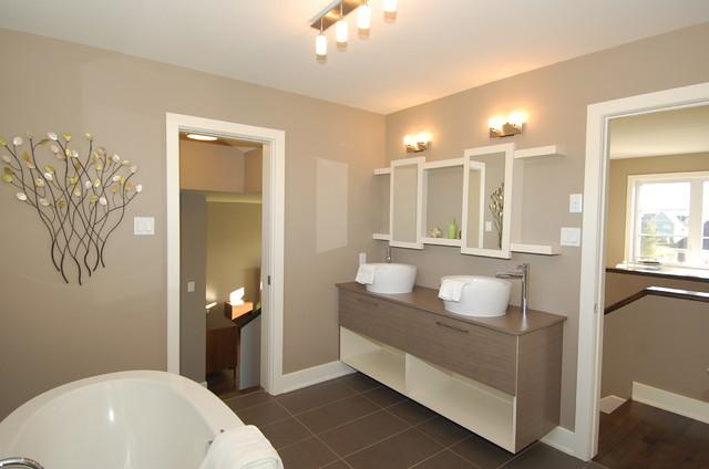 Salle de bain Bonzaï contemporary-bathroom