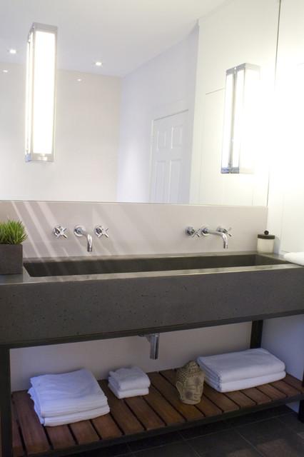 Salle de bain contemporaine - Salle de bains contemporaine ...