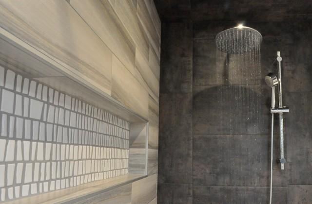 Salle de bain modern bathroom montreal by usine id es nathalie sin - Salle de bain modern ...