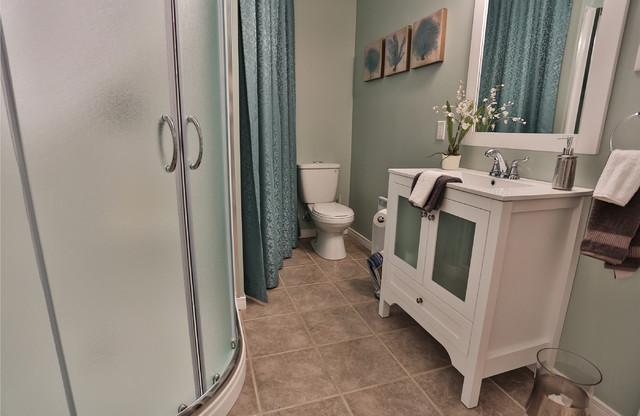 salle de bain r sidence denis. Black Bedroom Furniture Sets. Home Design Ideas