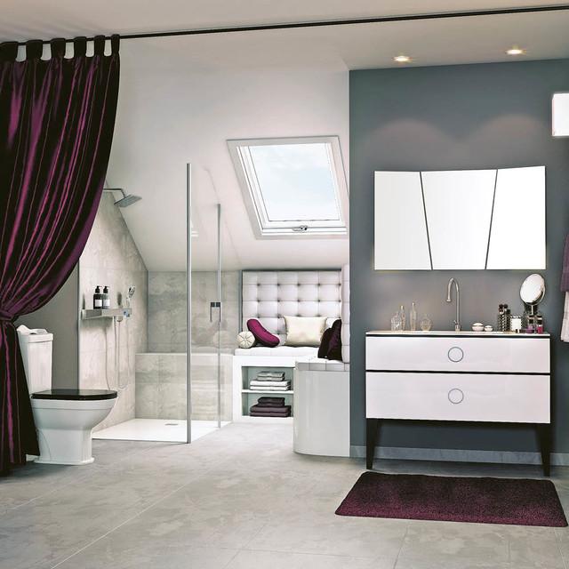 Salle de bain tendance Classique chic - Salle de Bain ...