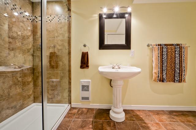 Salles de bains modern bathroom montreal by r no assistance - Salle de bain modern ...