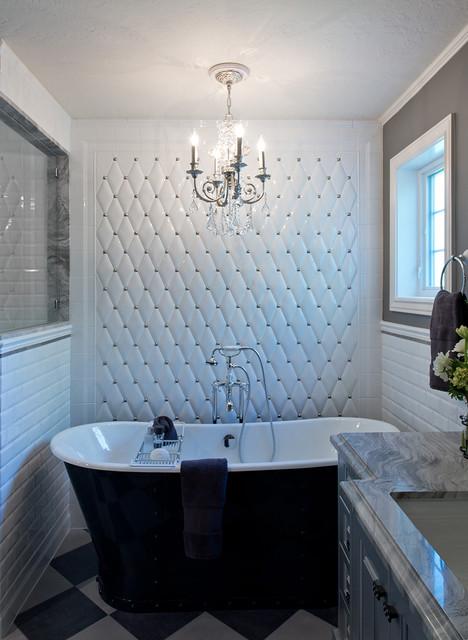 Salt lake city residence transitional bathroom for Bath remodel salt lake city