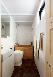 Petite salle de bain avec un bain japonais : Photos et idées ...