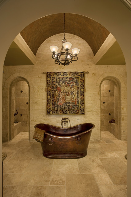 sam allen custom home design traditional bathroom - Custom Home Design
