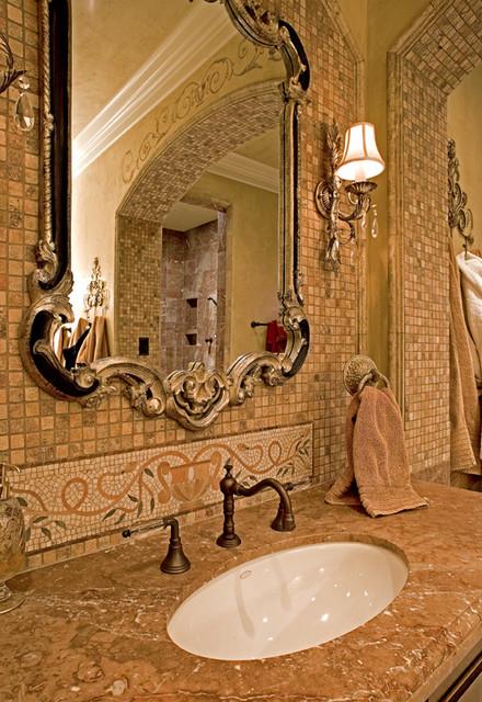 Sammamish Tuscan Estate mediterranean-bathroom