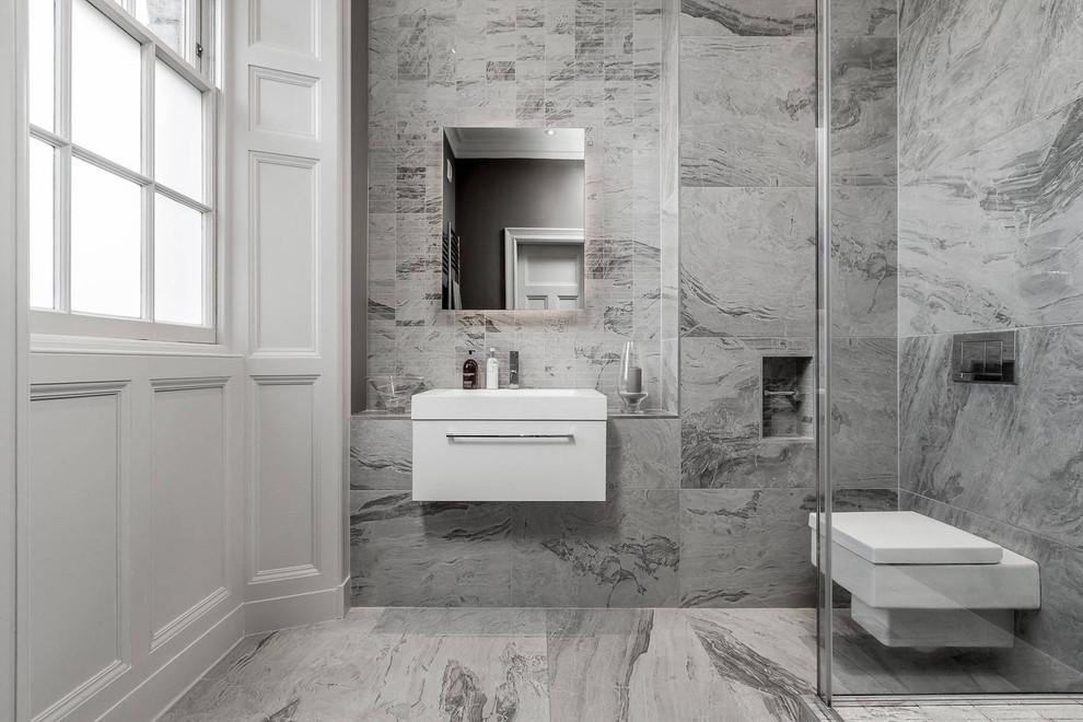 浴室北歐風格效果圖大全2017圖片