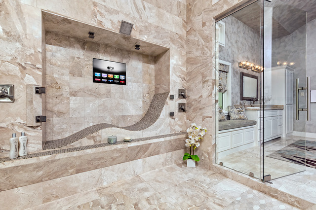 San Antonio Parade Of Homes 2015 Contemporary Bathroom