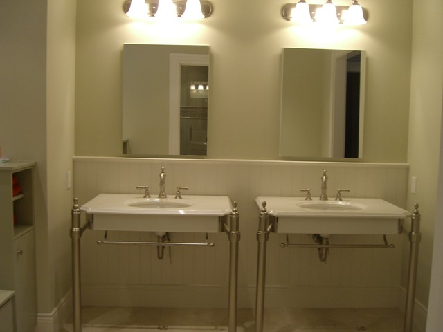 San Carlos Renovation!  Great Function and Style for Family! traditional-bathroom