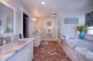 San clemente remodel beach style bathroom orange county by darci goodman design for Bathroom remodel orange county ca