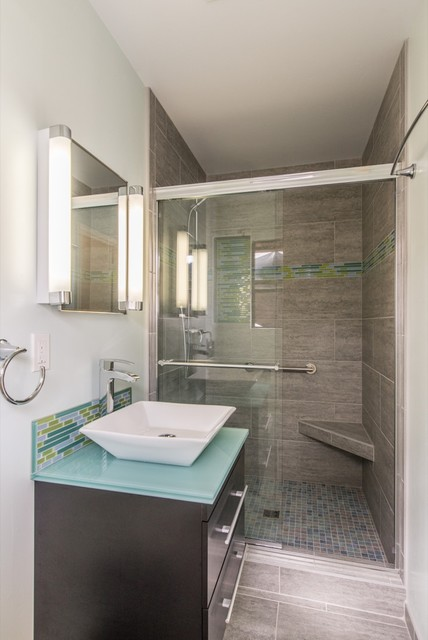 San diego bathroom remodel 2 modern bathroom san - Kitchen and bath design san diego ...