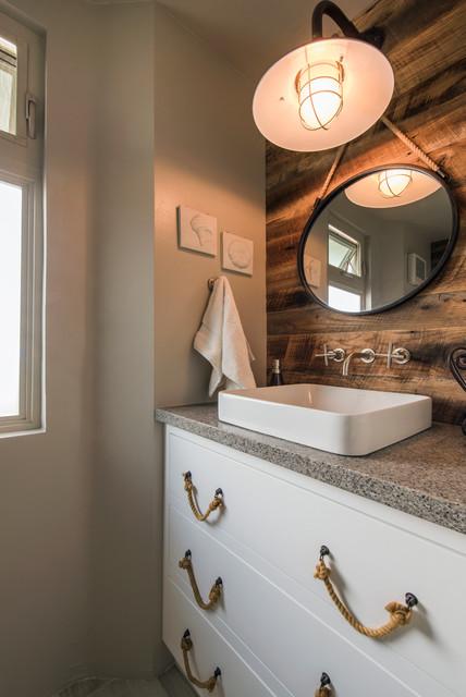 San Diego Beachfront Remodel Beach Style Bathroom San Diego By Hochuli Design