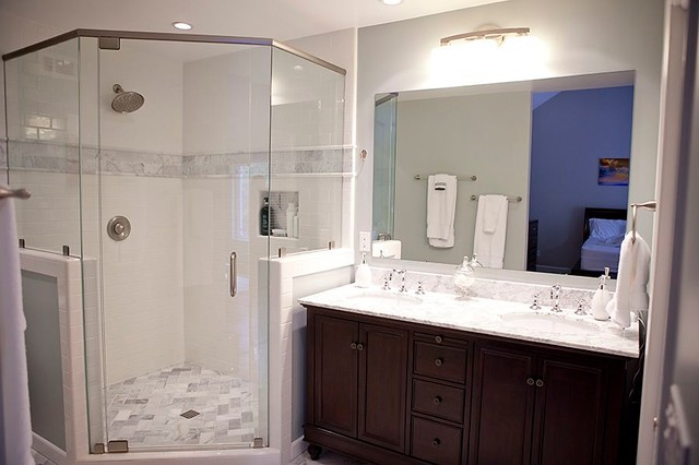 San diego kitchen bath remodel traditional bathroom other metro by nicolls design build - Bathroom design san diego ...