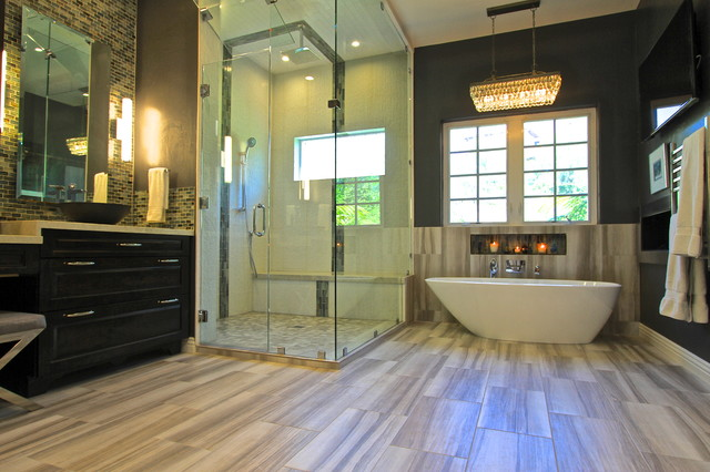 San diego master bath ke design studio traditional bathroom san diego by ke design studio - Bathroom design san diego ...