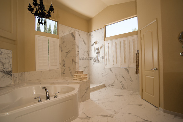 San Diego Master Bathroom Remodel Transitional