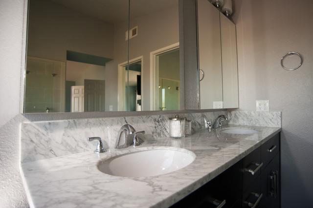 San diego master bathroom remodel transitional - Bathroom renovation san diego ...