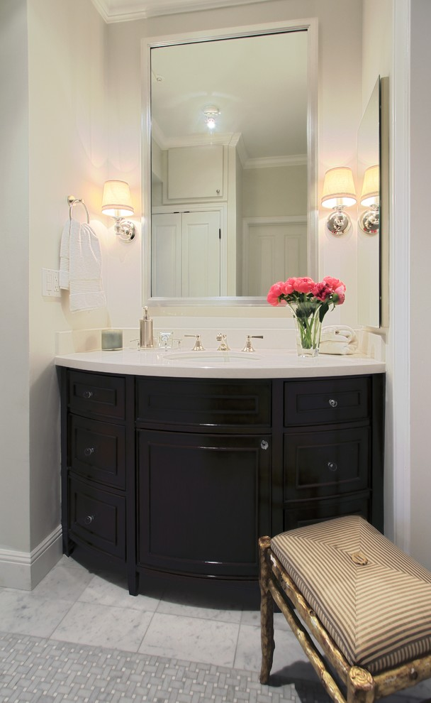 San Francisco Apartment - Traditional - Bathroom - San ...