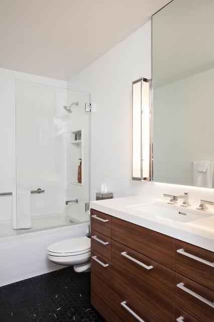 San Francisco Condo Remodel Contemporary Bathroom San Francisco By Shaw Cabinetry