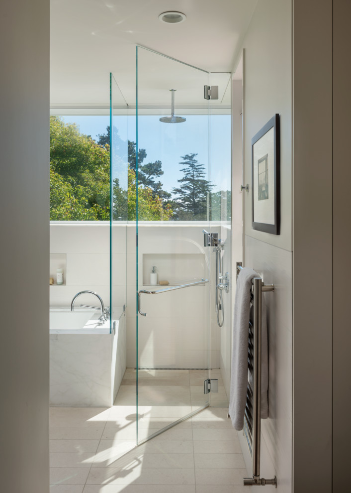 San Francisco Contemporary - Contemporary - Bathroom - San ...