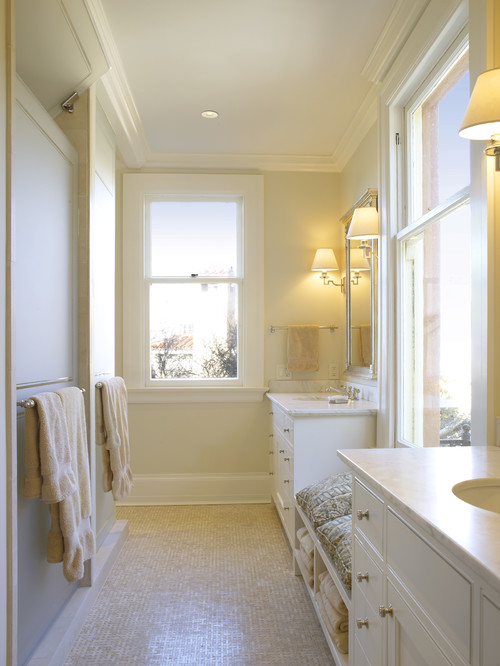 A Soothing Bathroom Is No Exception