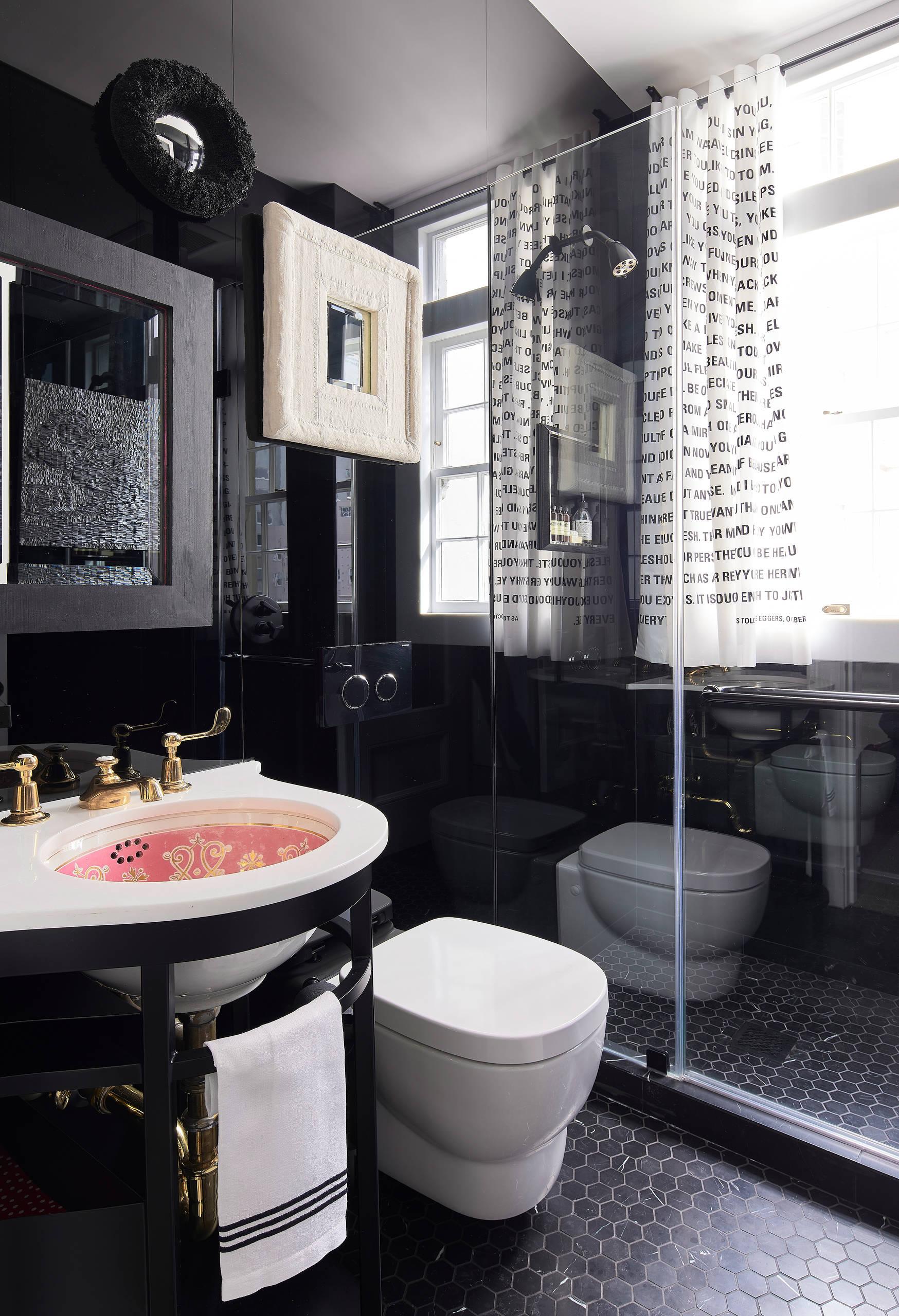 San Francisco Loft-Powder room