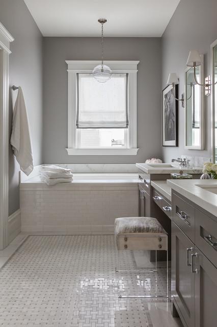 San Francisco Master Suite Remodel Transitional Bathroom San