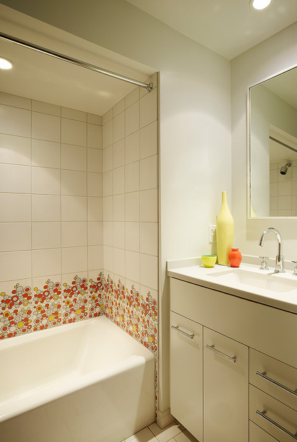 San Francisco Mid Century contemporary-bathroom