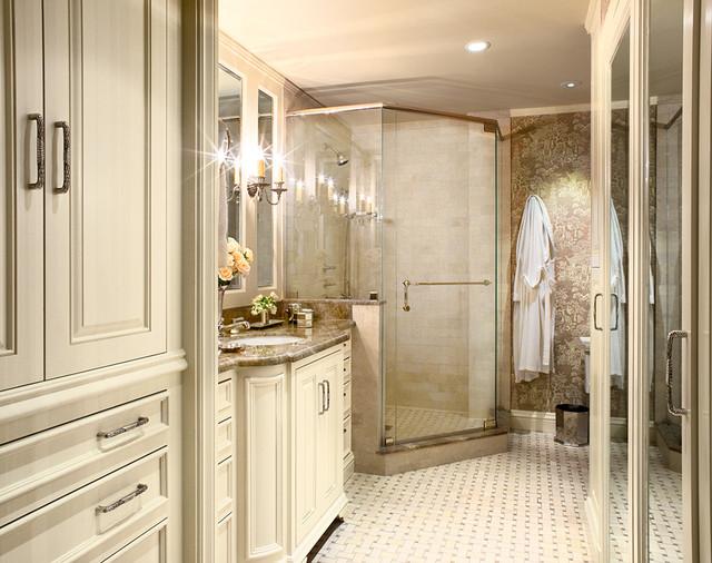 San francisco nob hill highrise traditional bathroom for Bathroom remodel mckinney