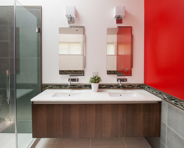 San Francisco Renovation Contemporary Bathroom San