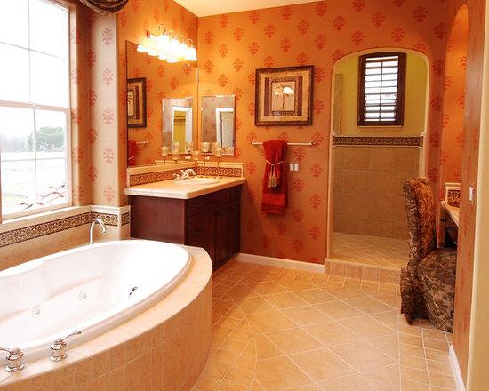Spanish mediterranean bath design ideas pictures remodel - Spanish style bathroom ideas ...