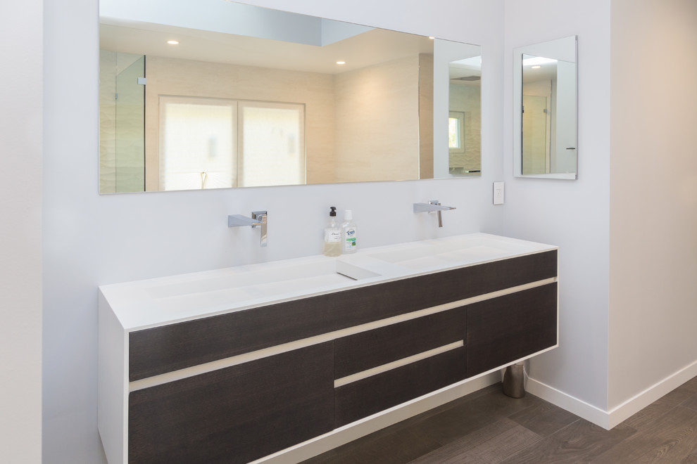 San Jose Kitchen, Bar & Bath Remodel - Modern - Bathroom ...