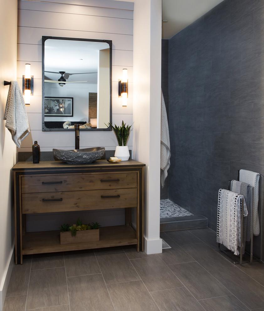 San Juan Capistrano - Transitional - Bathroom - Orange ...