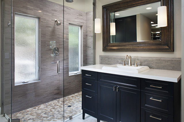 Contemporary Bathroom By Tracy Lynn Studio