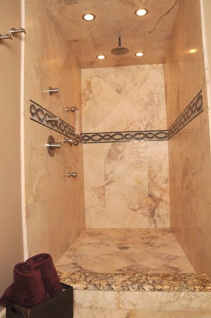San Marco Master Bath traditional-bathroom