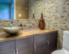 San Miguel Project Designed By CJ Lowenthal - Feat. Dura Supreme Cabinetry contemporary bathroom