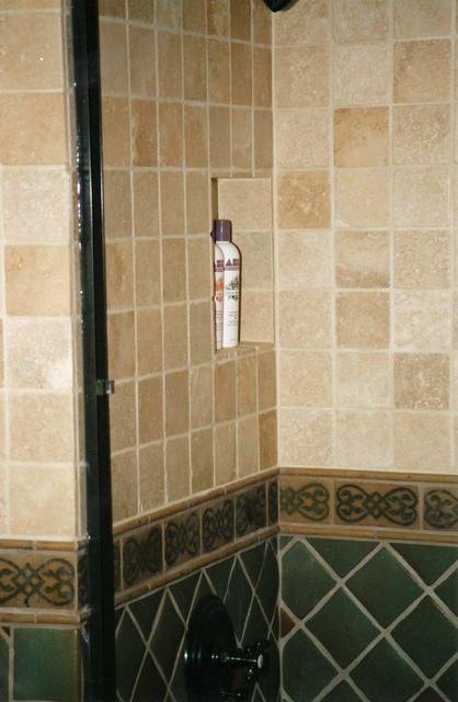 ... Rafael Avenue Bathroom and Fireplace Tile Remodel traditional-bathroom