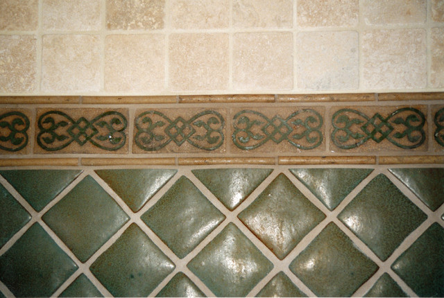 San Rafael Avenue Bathroom and Fireplace Tile Remodel eclectic-bathroom