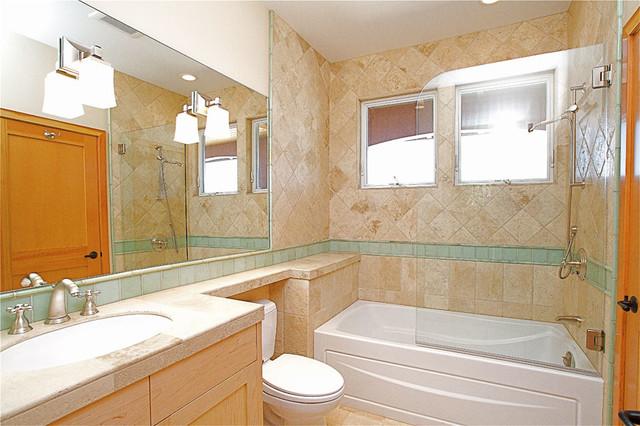 San Rafael Residence - two mediterranean-bathroom