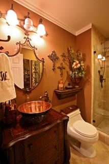 San Ramon Executive Residence Mediterranean Bathroom San Francisco By Amarant Design And