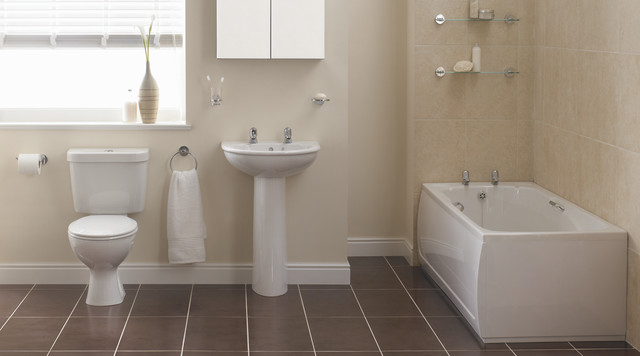 sandringham bathroom suite contemporary bathroom On bathroom designs b q