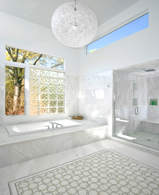 Sands Point Residence contemporary-bathroom
