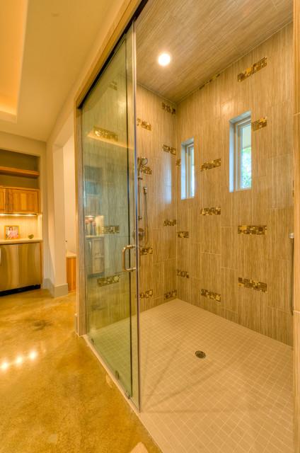 Sandy Creek contemporary-bathroom
