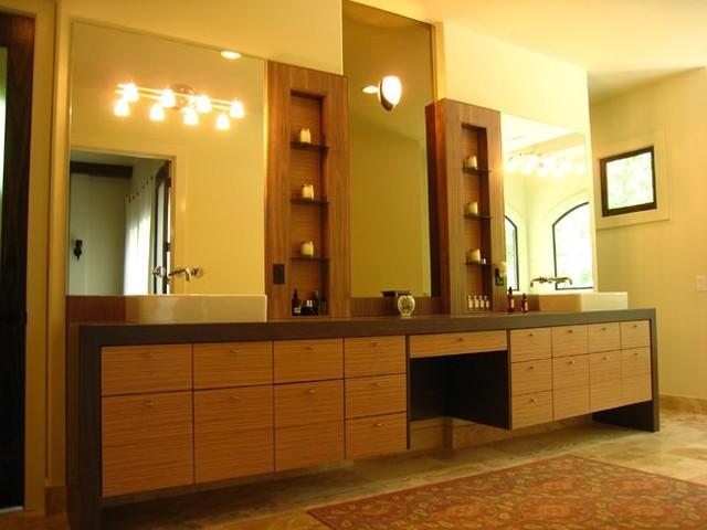 Sandy Springs New Home Construction contemporary-bathroom
