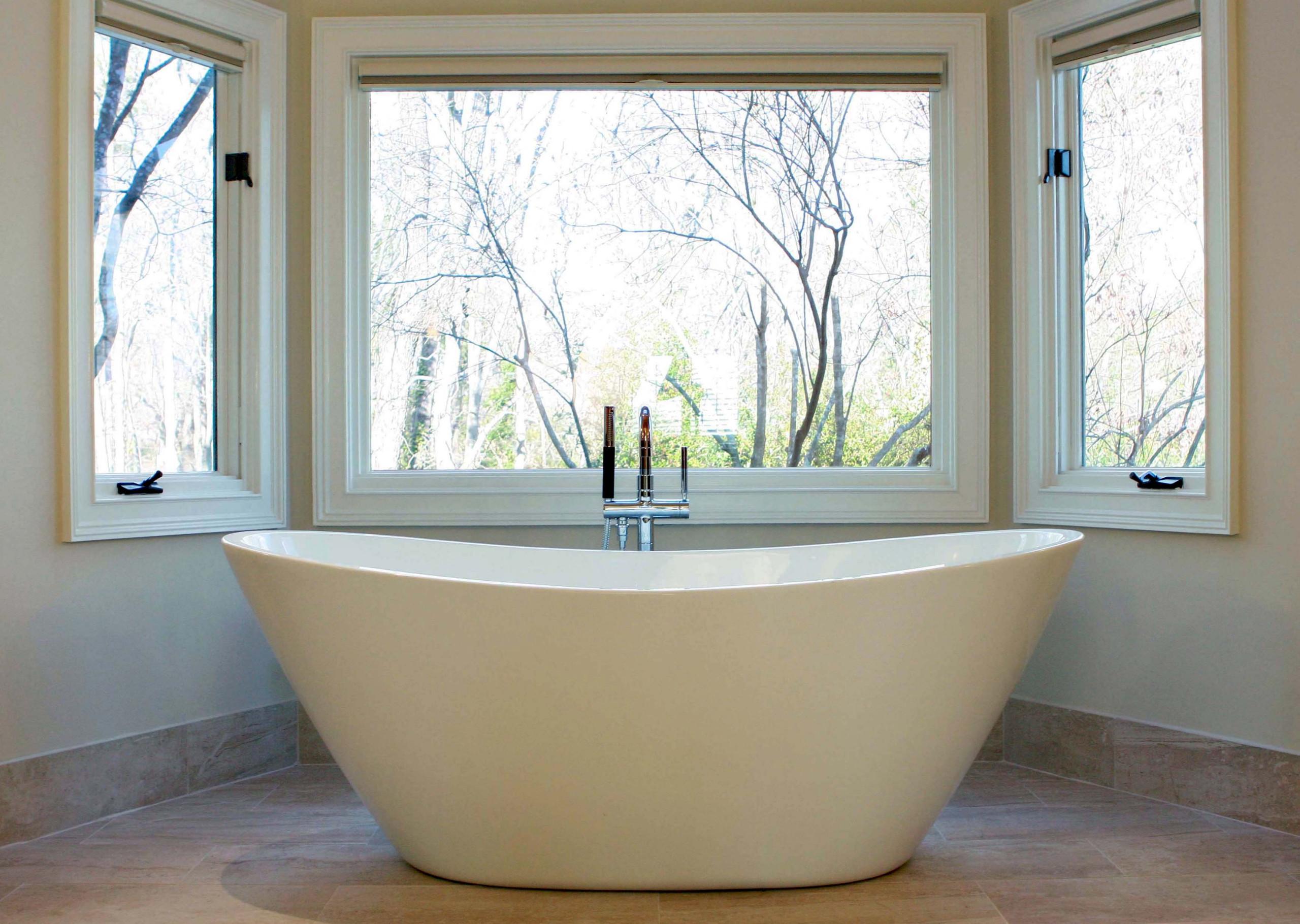 Sandy Springs Transitional Master Bath
