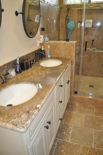 santa ana kitchen amp 2 bathrooms remodeling wood floors