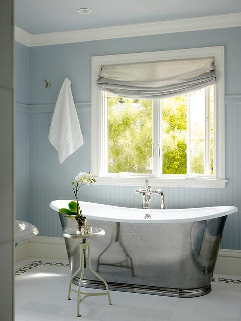 Santa Cruz Beach House Transitional Bathroom San Francisco By Scavullodesign Interiors