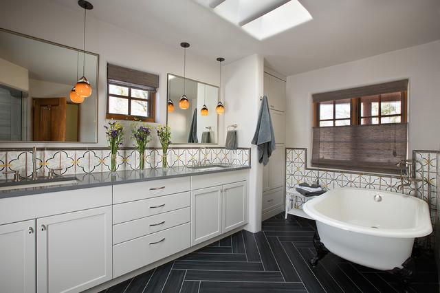 Santa Fe Eastside Remodel Amerikanischer Südwesten Badezimmer Simple Bathroom Remodel Albuquerque