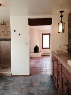Santa Fe Master Bath American Southwest Bathroom