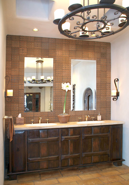 santa fe master bath eclectic bathroom san diego
